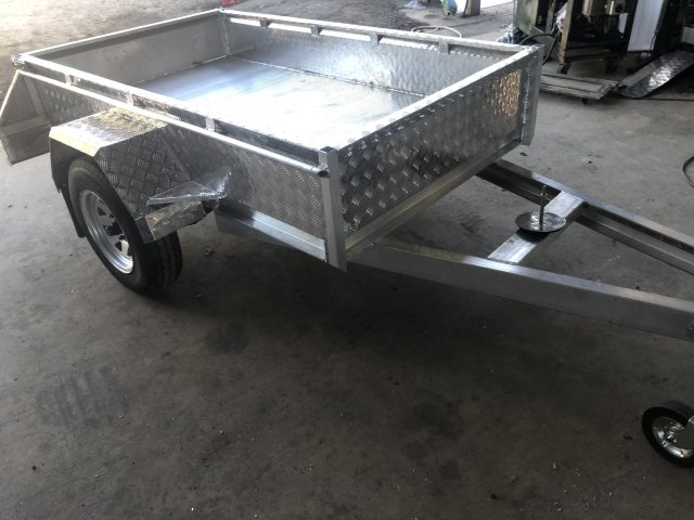 Include A Cage To Your Existing Trailers