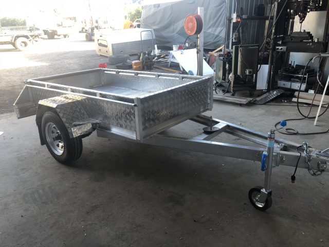 Custom Caged Trailer