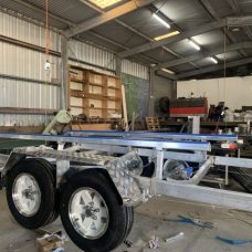 Boat Trailers with galvanised axle and spring options